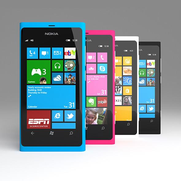 3DOcean Nokia Lumia 800 4791302