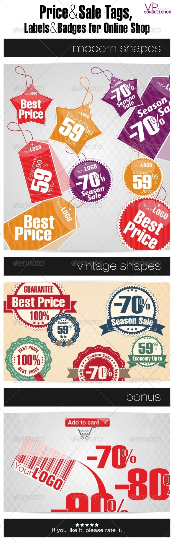 GraphicRiver Sale Tags Labels and Badges for Online Shop 4791340