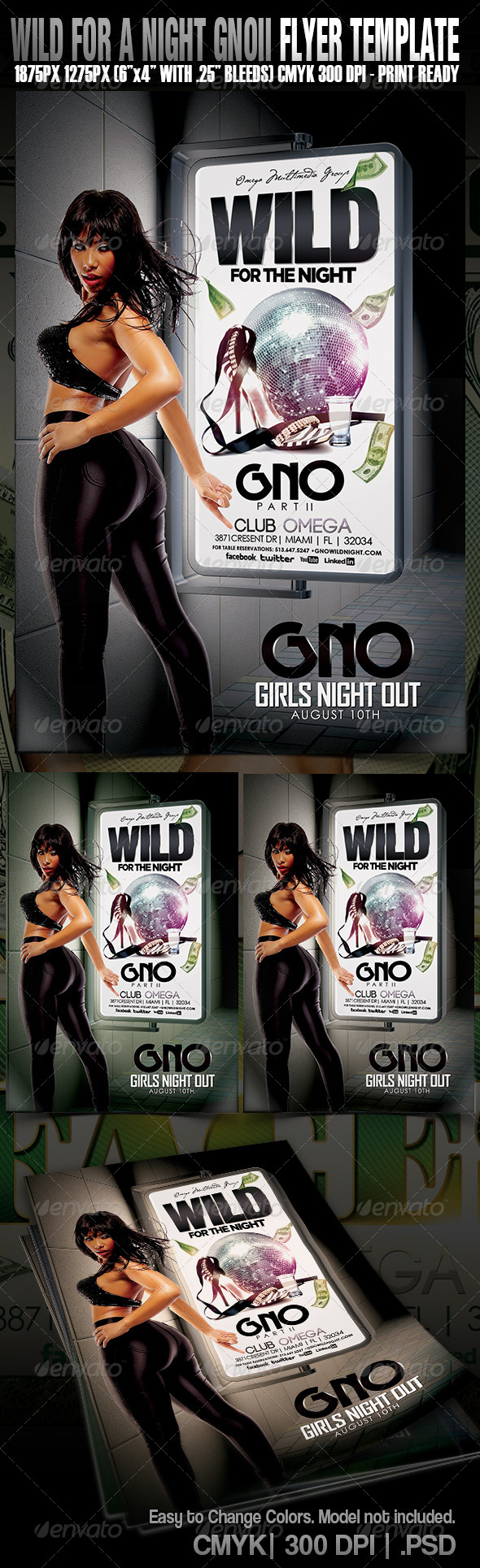 GraphicRiver Wild For The Night GNO PII 4791911