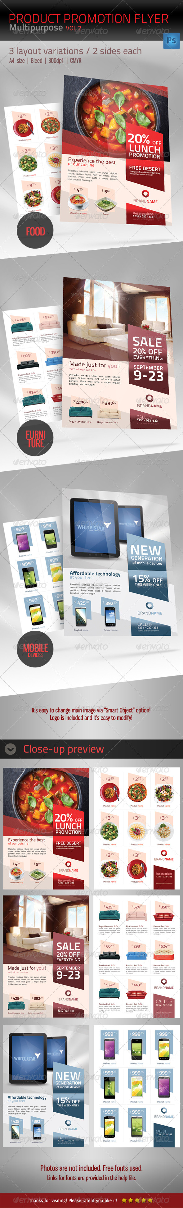 GraphicRiver Product Promotion Flyer Template Multipurpose 4792726