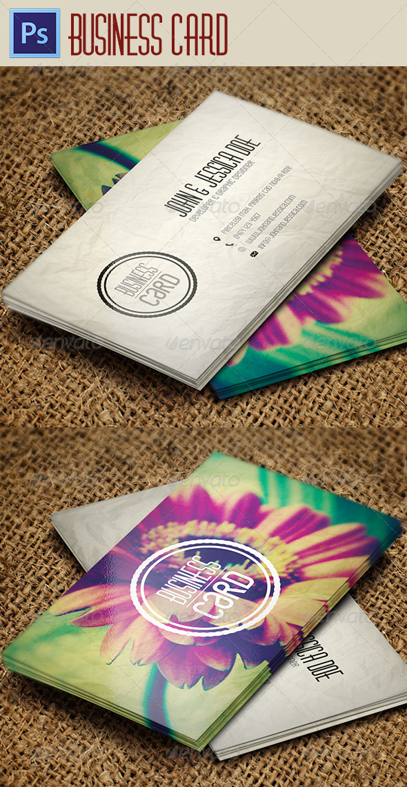 GraphicRiver Business Card 3845112