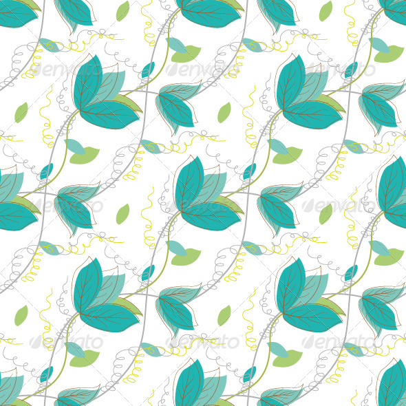GraphicRiver Green Leaves 4792734