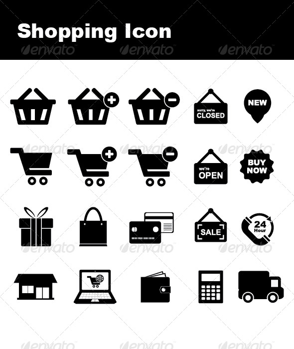 GraphicRiver Shopping Icon 4792775