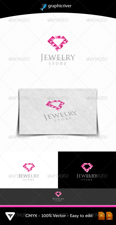 GraphicRiver Jewelry Logo 4792826