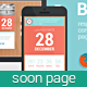 Blocks - Responsive Coming Soon page