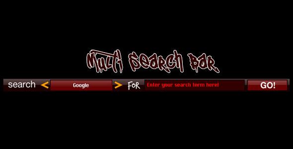 ActiveDen Multi Search Bar 500326