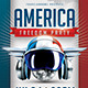 America Freedom Flyer Template - GraphicRiver Item for Sale