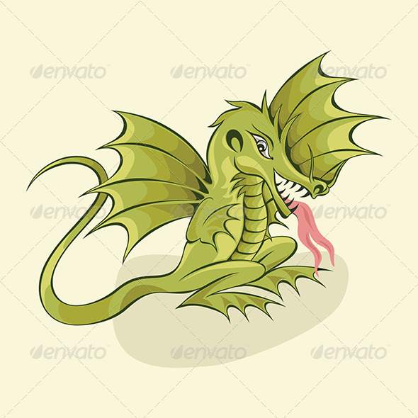 GraphicRiver Chinese Dragon 4794370