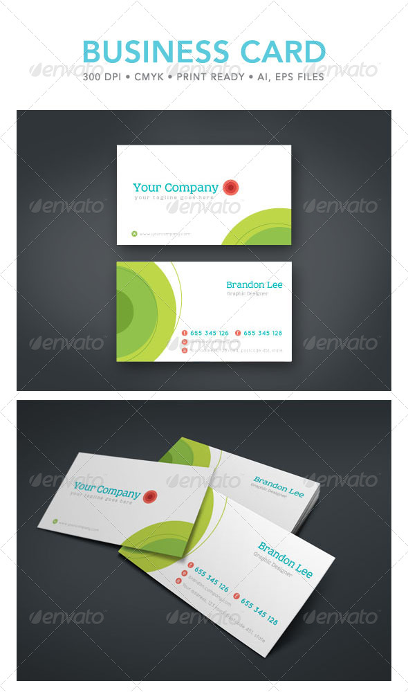 GraphicRiver Simple Business Card 4701778