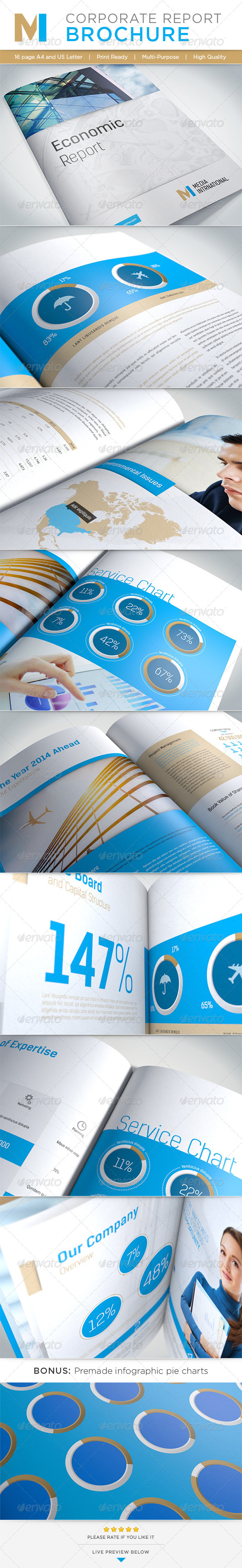 GraphicRiver Corporate Report Brochure 4796409