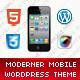 Moderner Mobile Retina | WordPress Version  Free Download