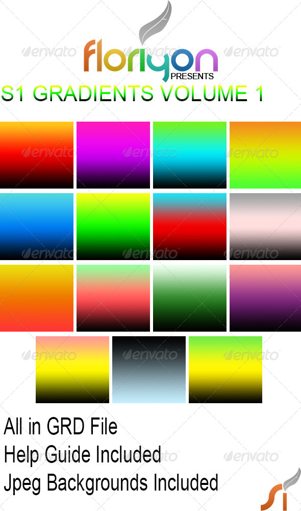 GraphicRiver S1 Gradients Volume 1 4796798