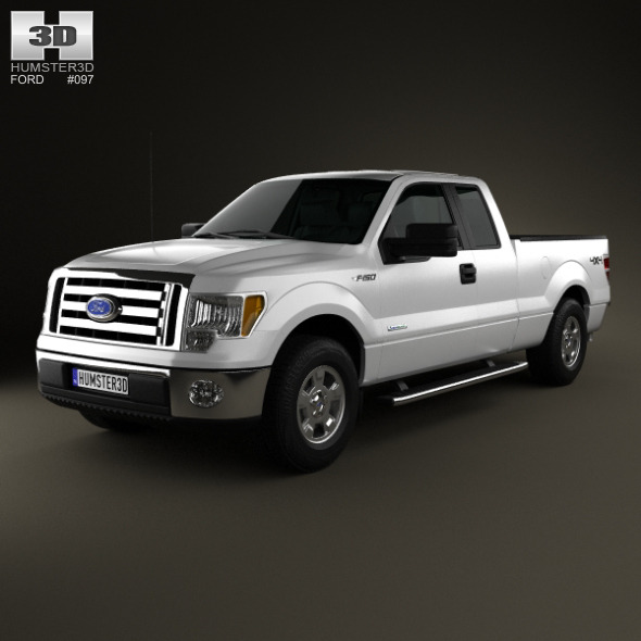 3DOcean Ford F-150 Super Cab 2011 4796968