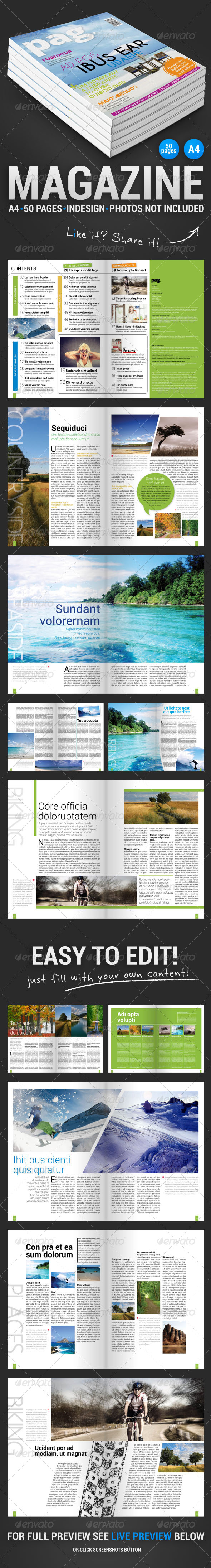 GraphicRiver Pag 50 Pages Magazine 4797487