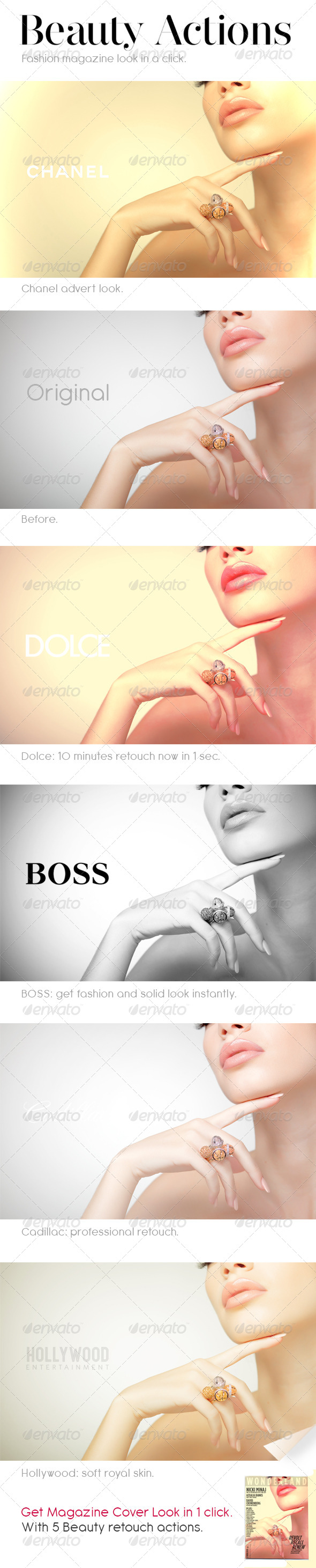 GraphicRiver Professional Beauty Actions 4762683