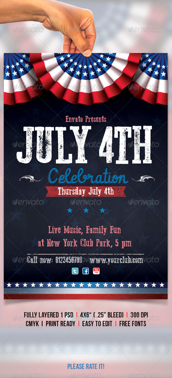 GraphicRiver July 4th 4710058