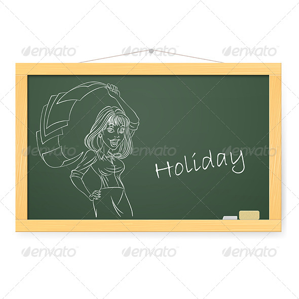 GraphicRiver Blackboard 4798329