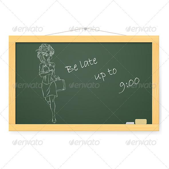 GraphicRiver Blackboard 4798370
