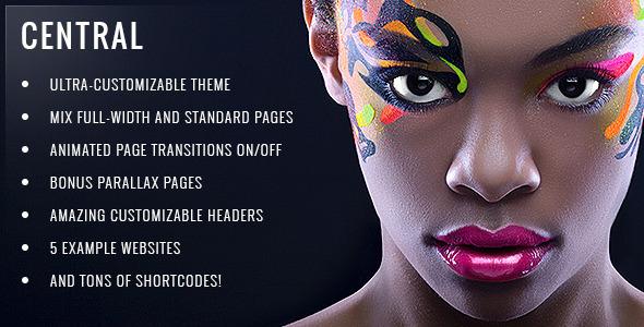 Central – Versatile, Multi-Purpose WordPress Theme (Creative) images