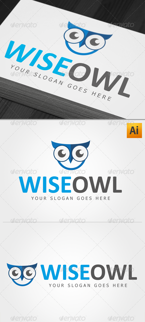 GraphicRiver Wise Owl Logo 4790544