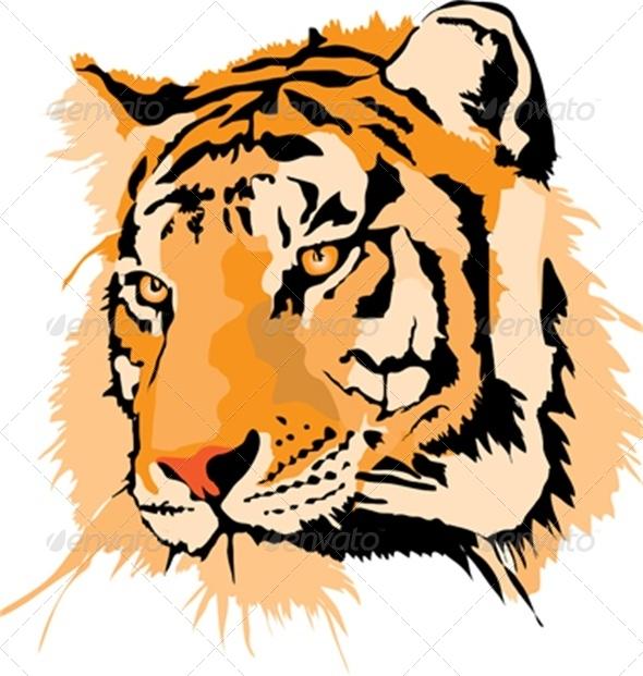 GraphicRiver Tiger 4798963