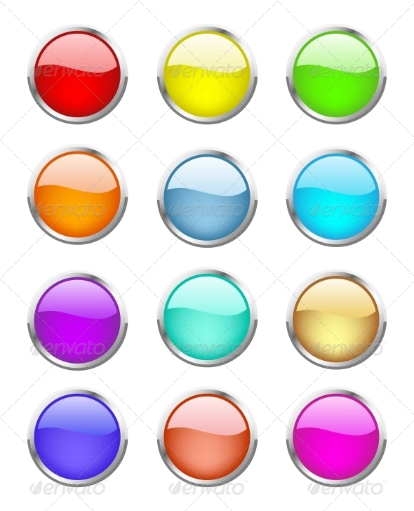 GraphicRiver Glossy Buttons 4799464