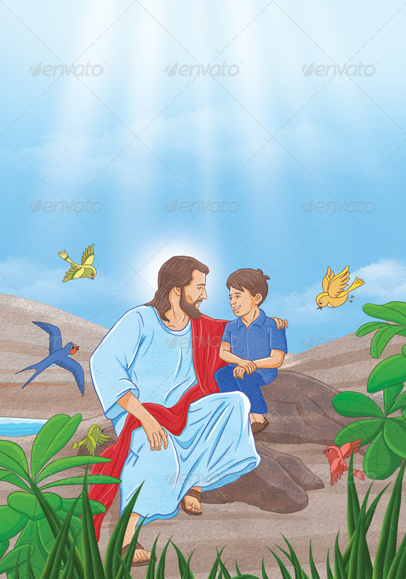 GraphicRiver Jesus And Boy 4800516
