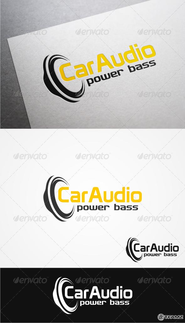 GraphicRiver Car Audio Logo Templates 4800532