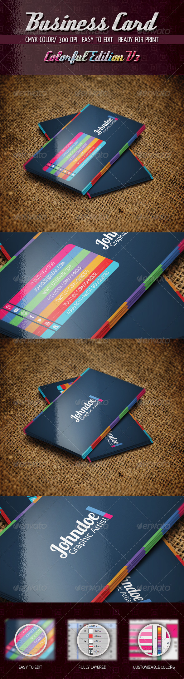 GraphicRiver Colorful Edition V3 4800585