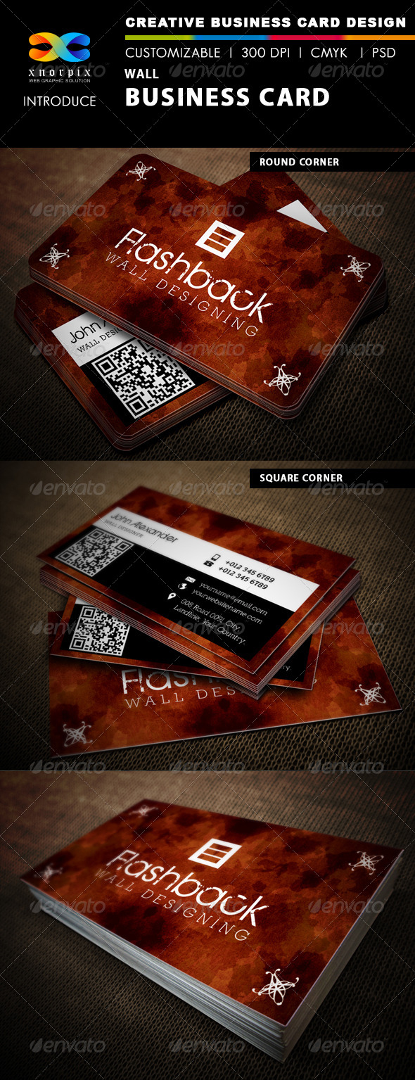 GraphicRiver Wall Business Card 4800719