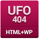 UFO 404 - Animated 404 Page