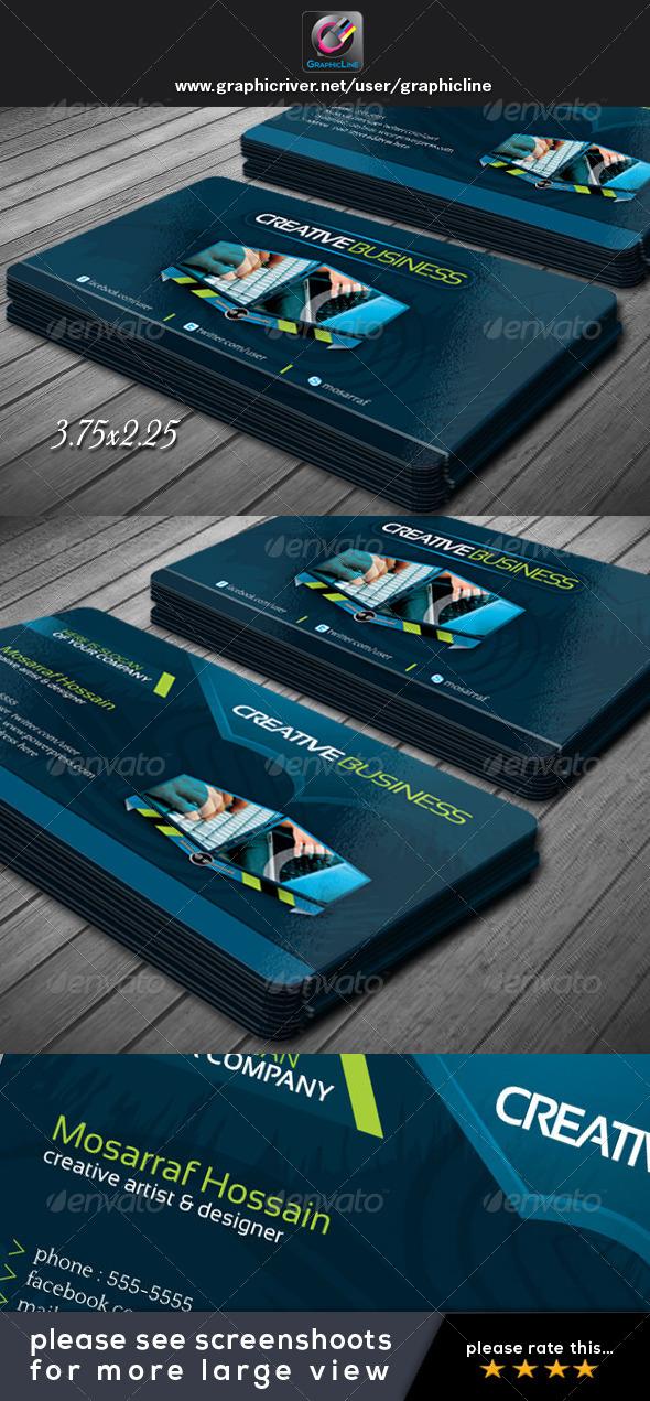 GraphicRiver Creative Business Card Design V.2 4801381