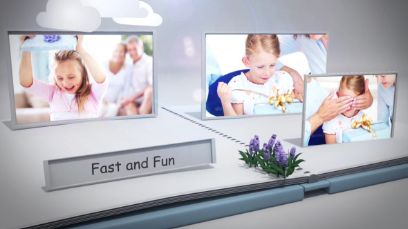 VideoHive Pop-Up Book 3D 4801440