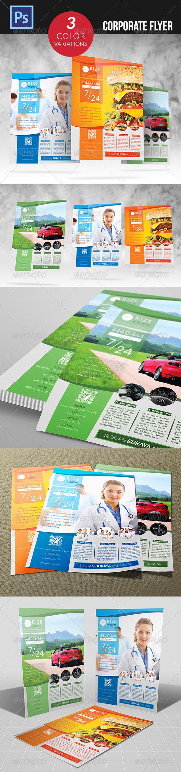 GraphicRiver Corporate Flyer 4737550
