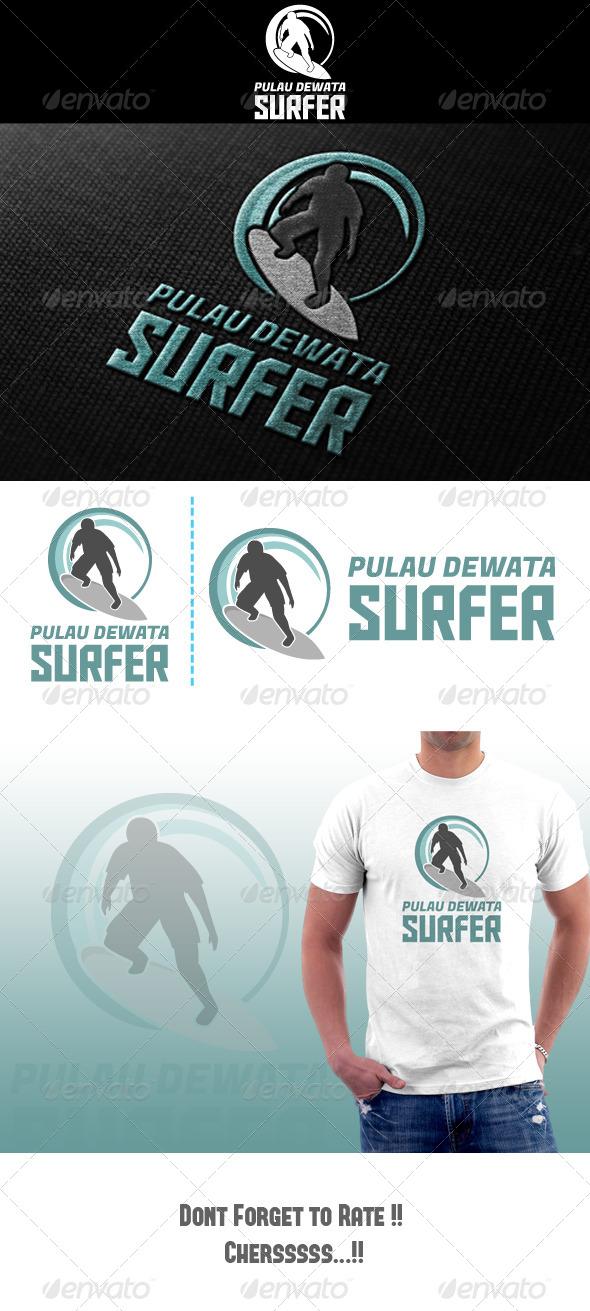 GraphicRiver Surf Logo 4801809