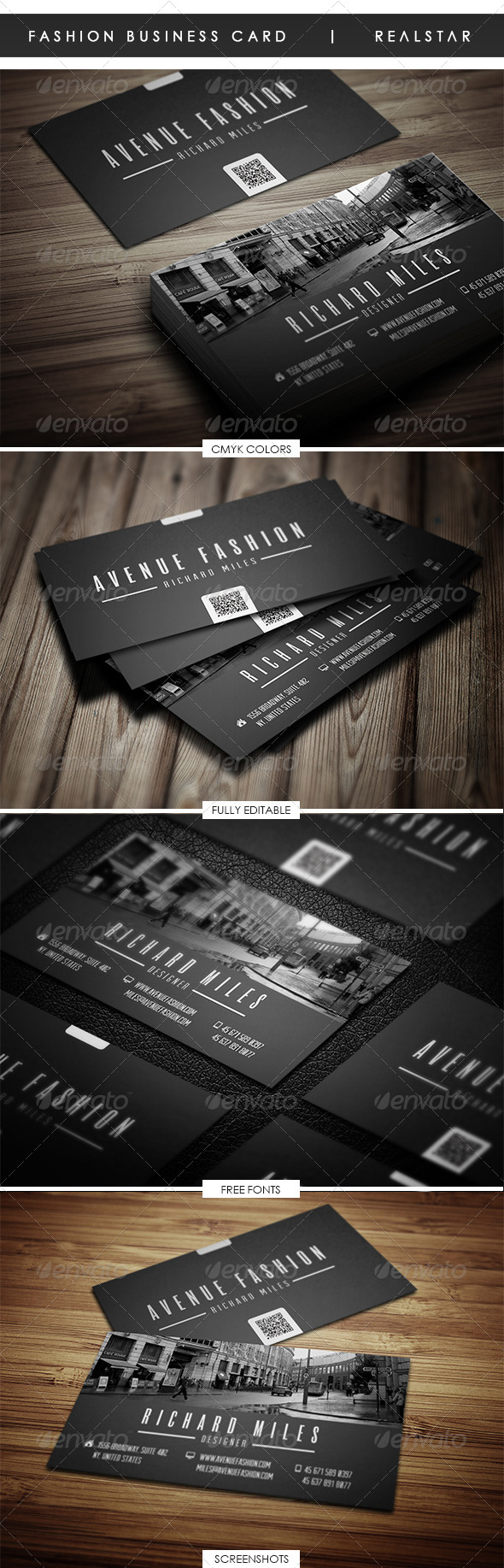 Fashion Business Card - Corporate Business Cards