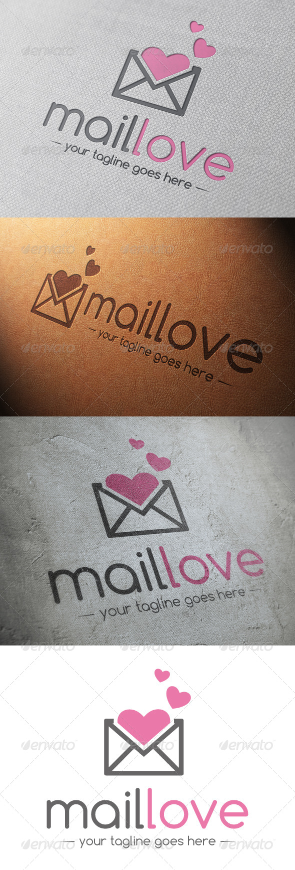 GraphicRiver Mail Love Logo Template 4802329