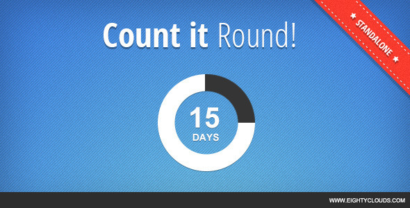 CodeCanyon Count It Round Standalone 4802487