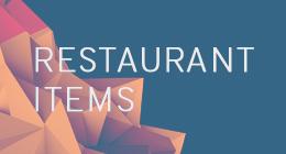 gd restaurant items