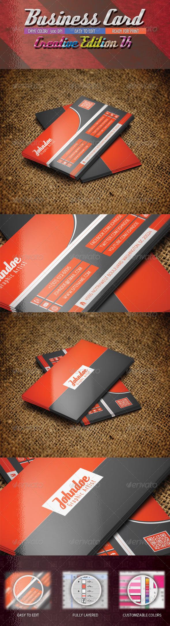 GraphicRiver Business Card Creative Edition V1 4802794