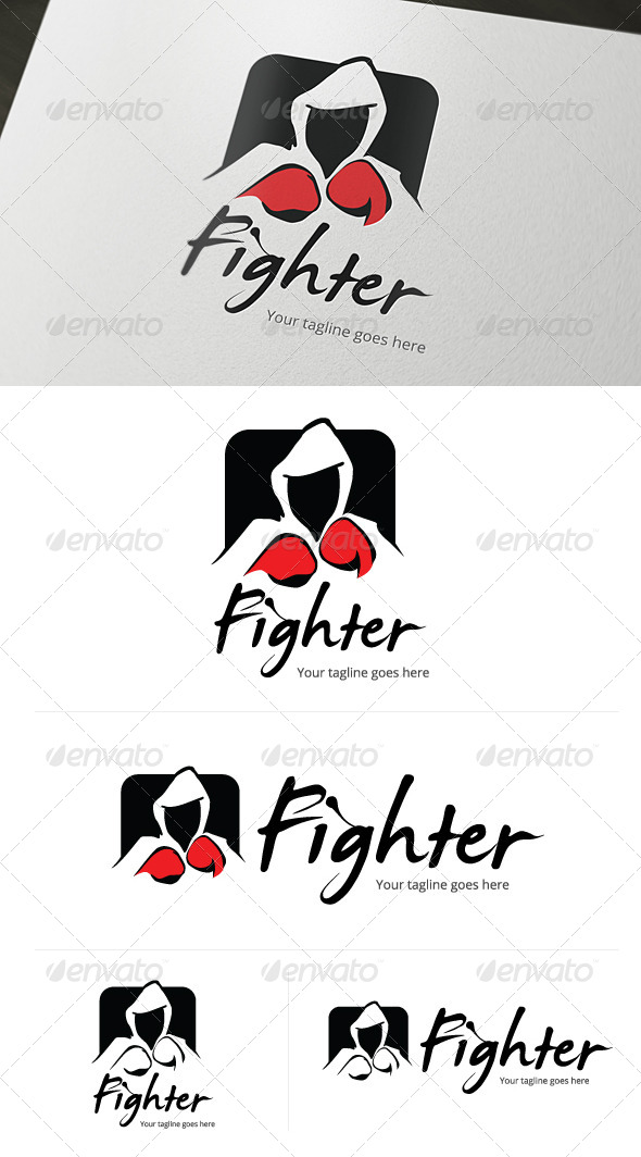 GraphicRiver Fighter Entertainment Logo 4794837