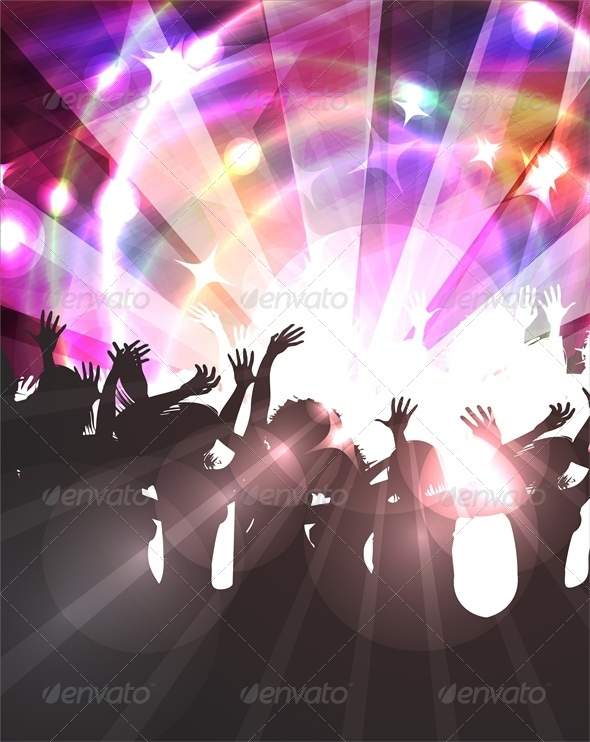 GraphicRiver Disco Background 4803224