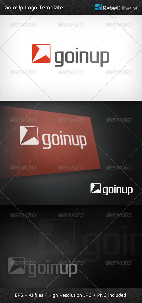GoinUp Logo Template - Symbols Logo Templates