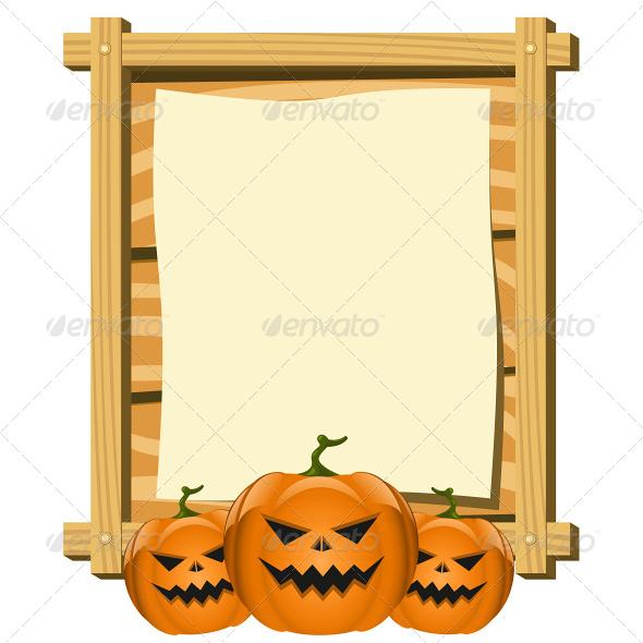 Blank Halloween Flyers Blank Halloween Flyer Vector
