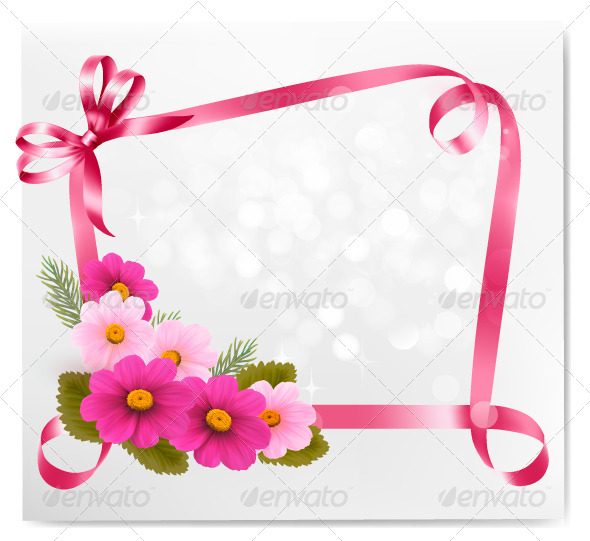 GraphicRiver Holiday Background with Colorful Flowers 4793052