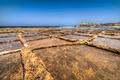 Salt pans at Qbajjar in Gozo, Malta - PhotoDune Item for Sale