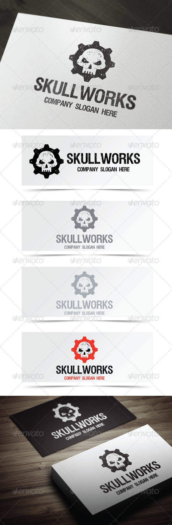 GraphicRiver Skull Works 4803795