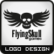 Flying Skull Games Logo - GraphicRiver Item for Sale