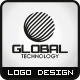 Global Technology Logo - GraphicRiver Item for Sale