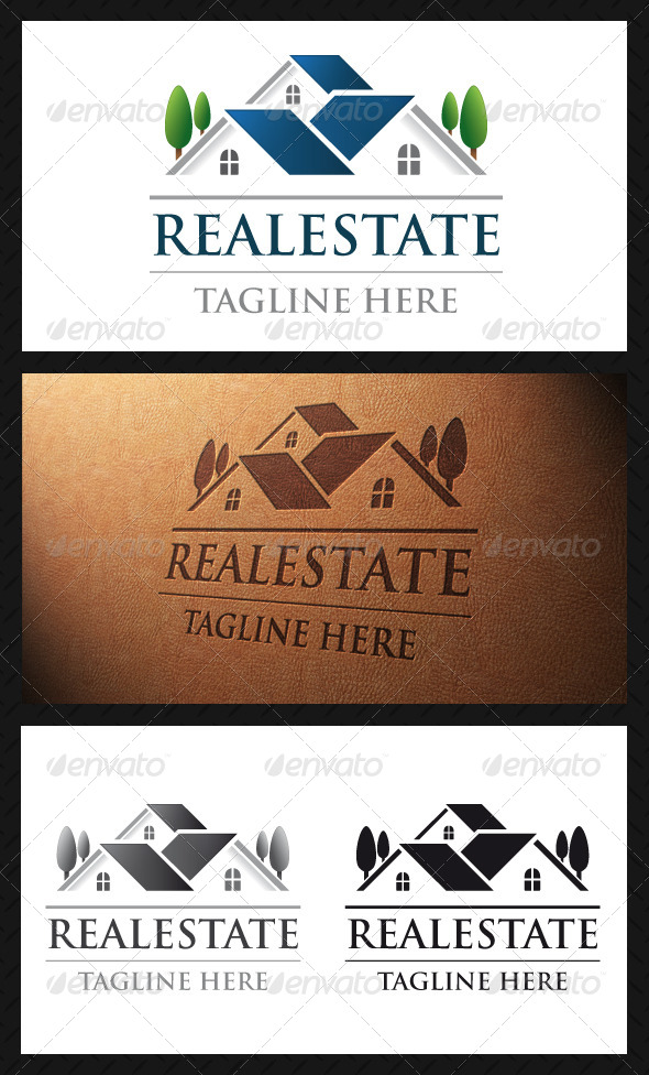 GraphicRiver Real Estate Logo Template 4804303